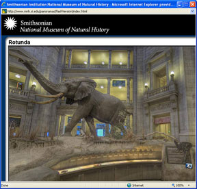 Smithsonian virtual museum
