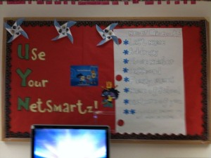 Internet safety bulletin board