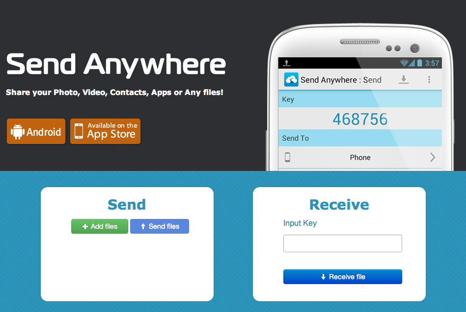 Send Anywhere- iLearn Technology