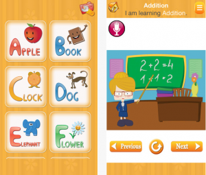 Kids picture dictionary app- iLearn Technology