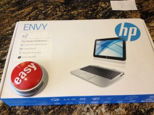 Staples HP Envy x2