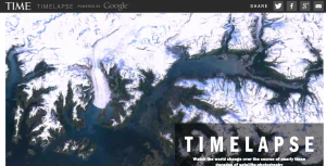 Timelapse: a satellite veiw of the earth (iLearn Technology)