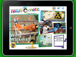 News-O-Matic: New non-fiction delivered to your class every day!
