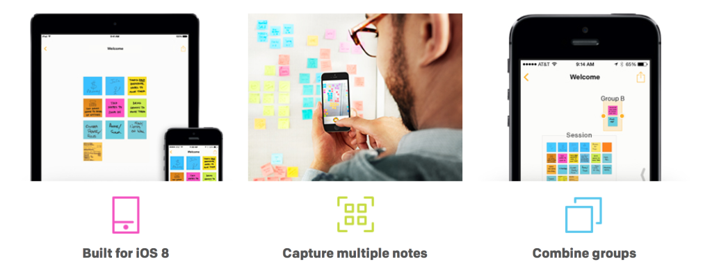 Post-it Plus: take your brainstorm sessions with you!