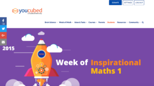 YouCubed: Help students think like a mathematician