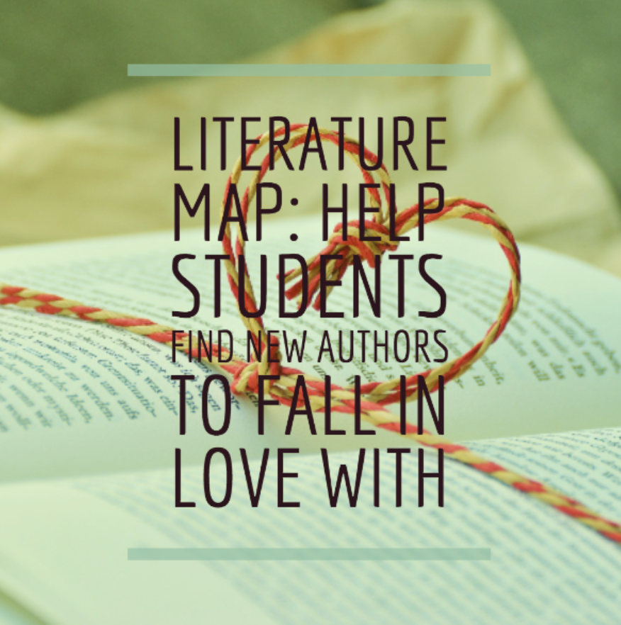 Literature Map: Help students find new author to fall in love with