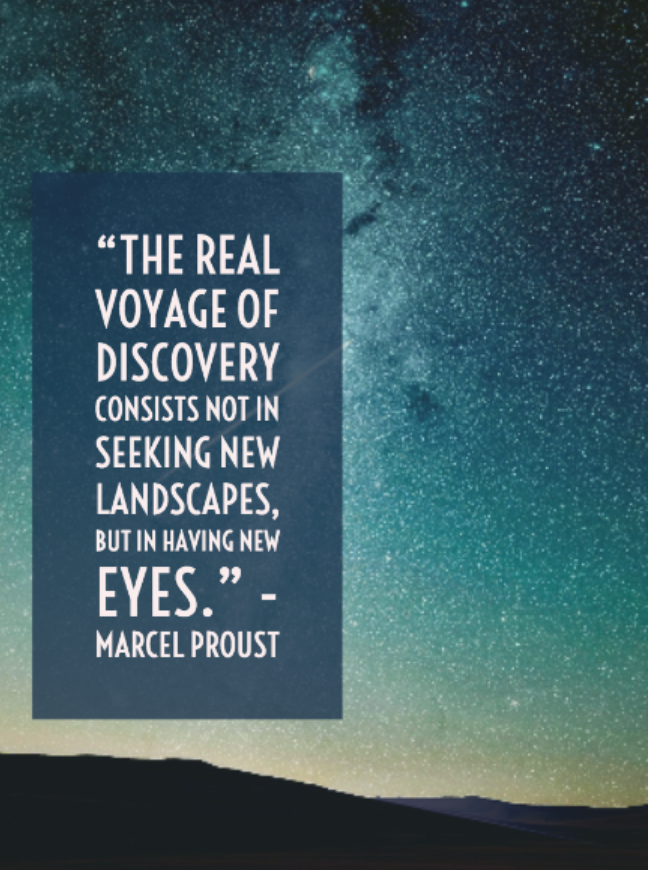 Professional Development that lets you see with new eyes