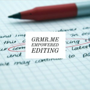 Grmr.me Empowered Editing