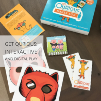 Get Qurious: Interactive and Digital Play Kit